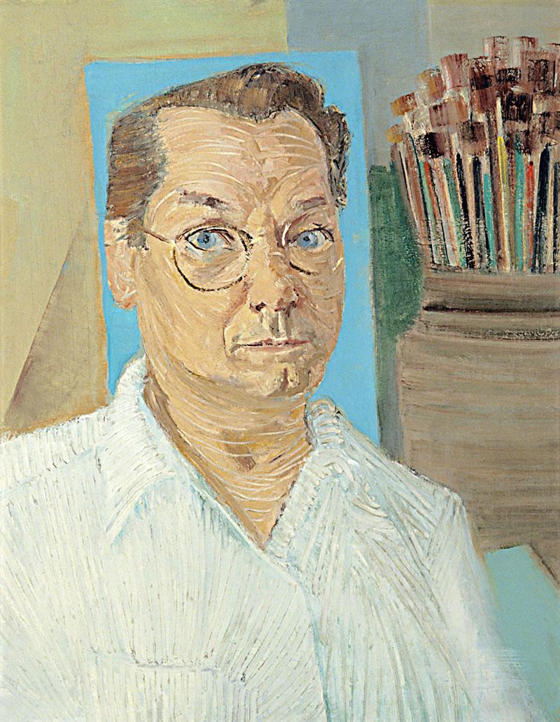 Auto-retrato Cândido Portinari