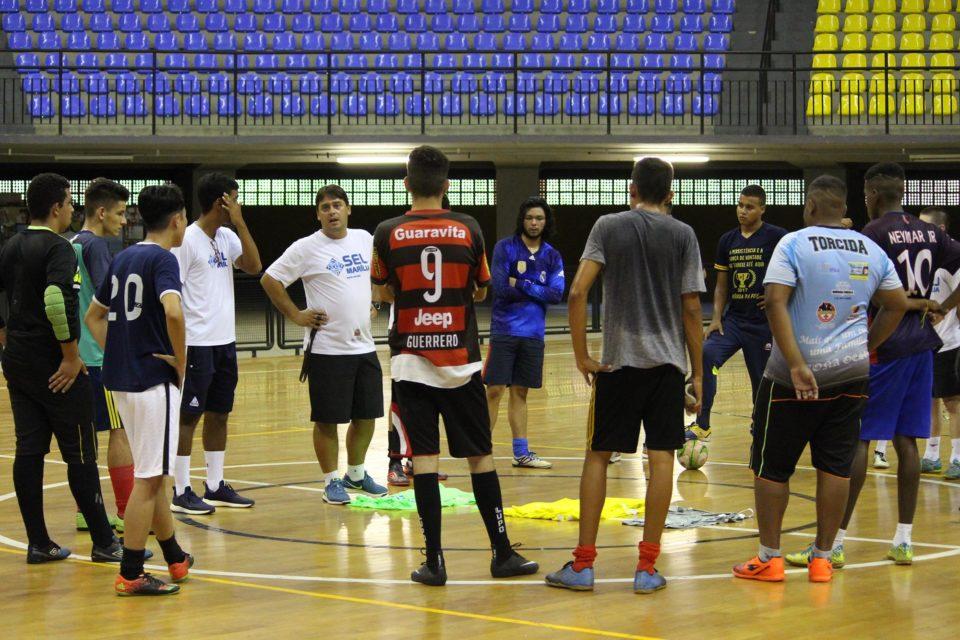 a957f9edc1 Avaliação Técnica do futsal da SELJ reúne 130 atletas masculinos e  femininos.
